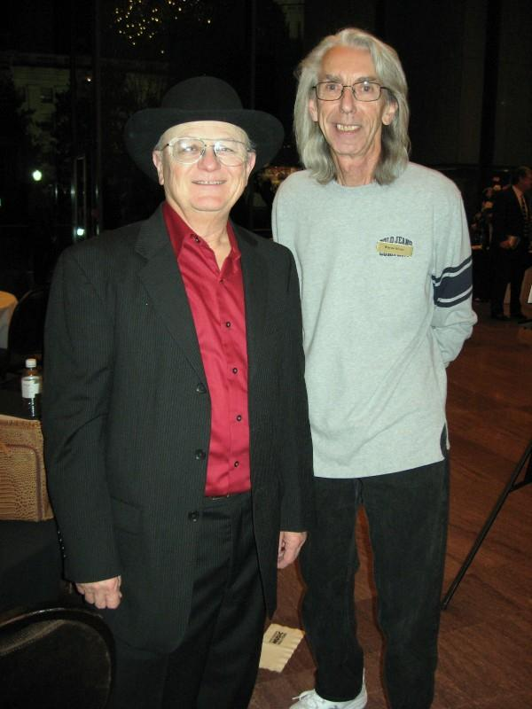 Charlie McCoy and Wayne Moss at the West Virginia Music Hall of Fame