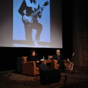 Bill Lloyd and Wayne during his Nashville Cats induction, at The Country Music Hall of Fame,