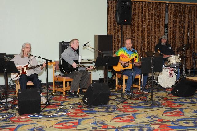 Wayne, Russ Hicks, Hoze Fleming and Herb Bennett