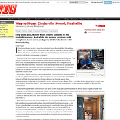 From the Archives: Sound on Sound Interviews Wayne Moss of Cinderella Sound Studio